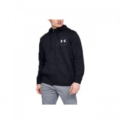 Pánska mikina Under Armour Fleece Full Zip Hoody 1345326-001 čierna