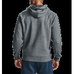 Pánska mikina Under Armour UA Rival Fleece Full Zip Hoodie 1357111 sivá