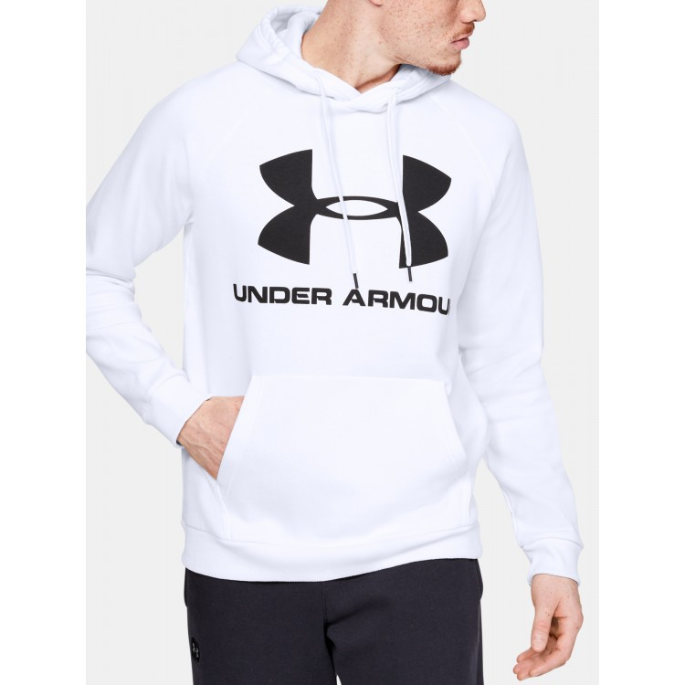 Under Armour UA pánska mikina Rival Big Logo 1345628-112