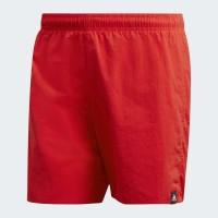 Pánske plavky Adidas Solid DQ2973 červené