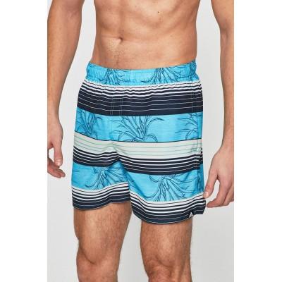 Pánske plavky Adidas Stripe DQ2998 modré