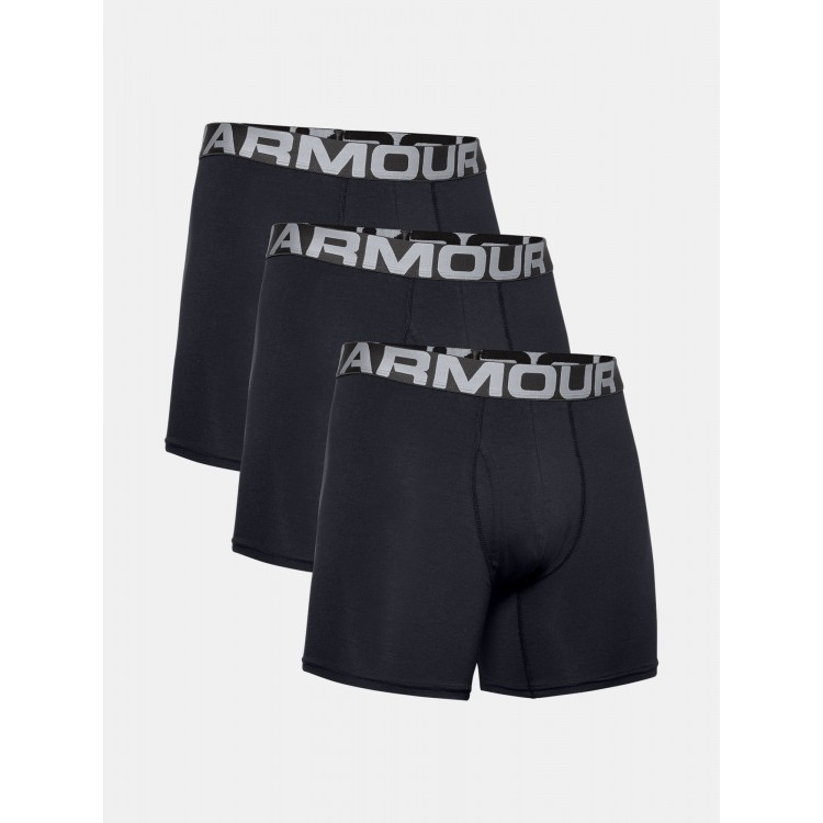 Boxerky Under Armour 3pack 1363617-001 čierne