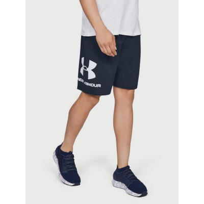 Kraťasy Under Armour Sportstyle Cotton Graphic Short 1329300 408 modré