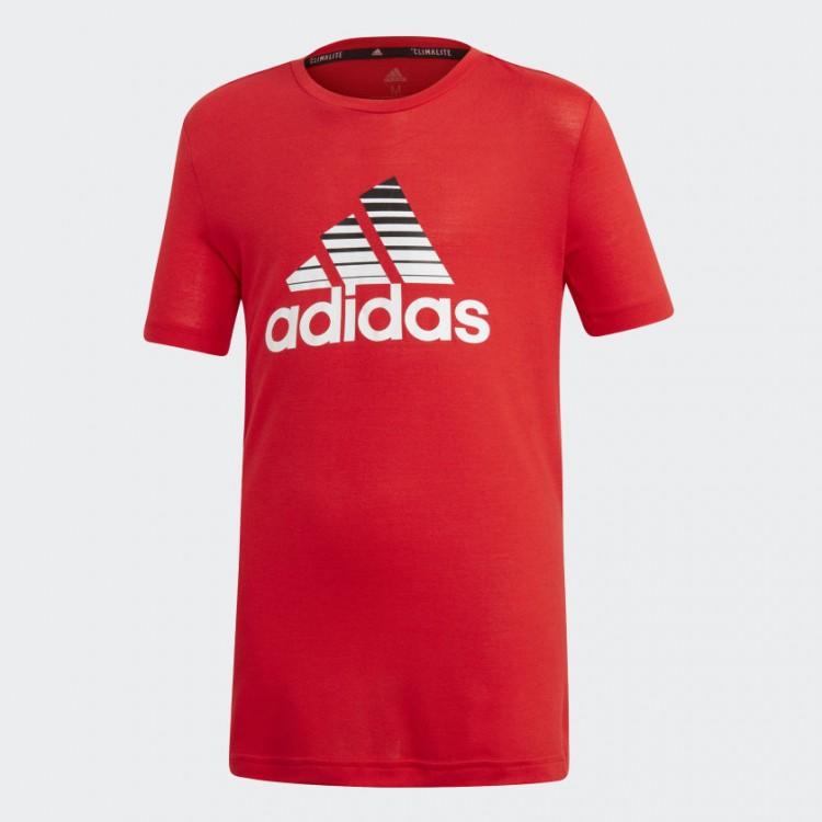Chlapčenské tričko Adidas Prime ED5750 červené