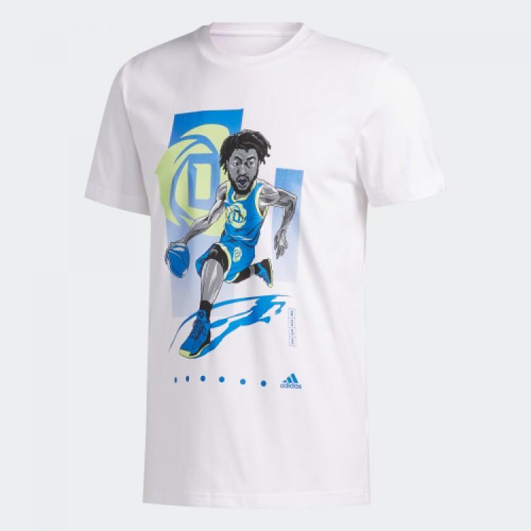 Pánske tričko Adidas Rose Geek Up FM4772 biele