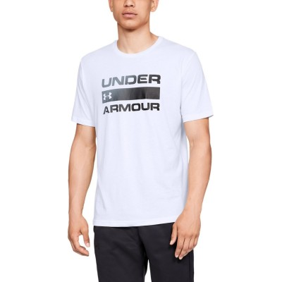 Pánske tričko Under Armour UA Team Issue Wordmark SS 1329582-100