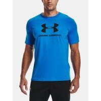 Under Armour pánske tričko Ua Sportstyle Logo SS 1329590-787 modré