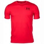Under Armour UA pánske tričko Sportstyle 1326799-600 červená