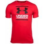 Under Armour UA pánske tričko Ua Gl Foundation 1326849-602 červená