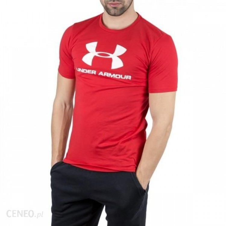 Under Armour UA pánske tričko Ua Sportstyle Loto Tee 1329590-600 červená
