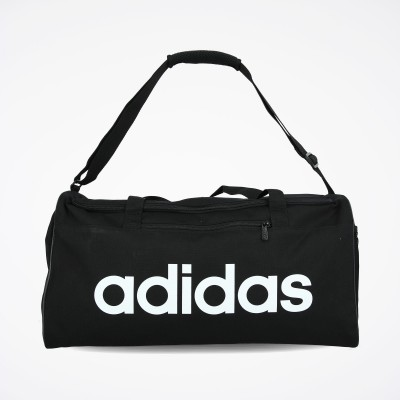 Adidas taška Linear Core Duffel M DT4819 black white čierna biela
