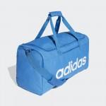 Adidas taška Linear Core Duffel M DT8621 trublu white modro biela