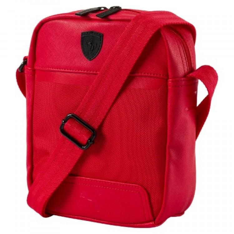 Crossbody kabelka Puma Ferrari Portable 074843 červená