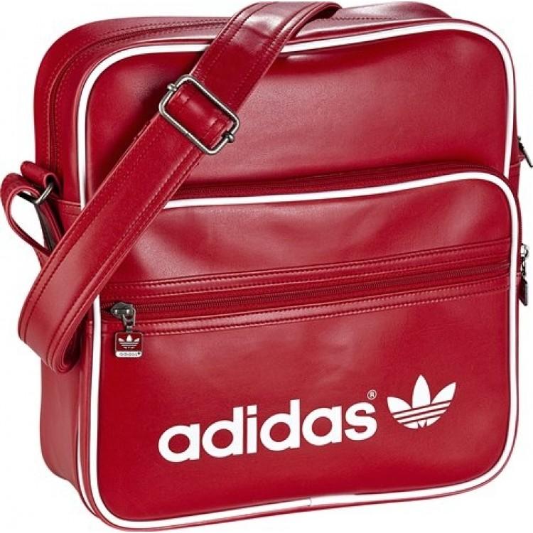 Taška cez rameno Adidas Originals AC Sir X32598 červená